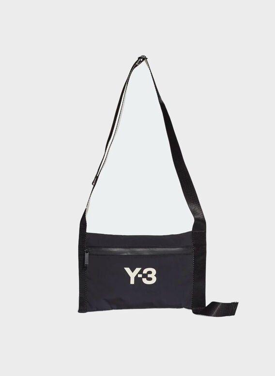 SACOCHE Y-3, BLACK/CREAMWHITE, medium