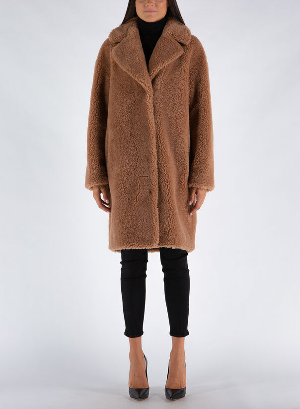 CAPPOTTO CAMILLE COCOON COAT, 10500SAND, large