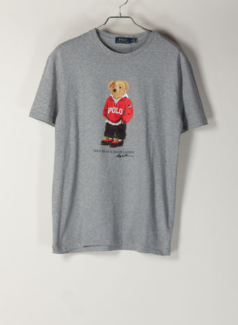 T-SHIRT STAMPA  BEAR, ANDOVERHEATHER, small