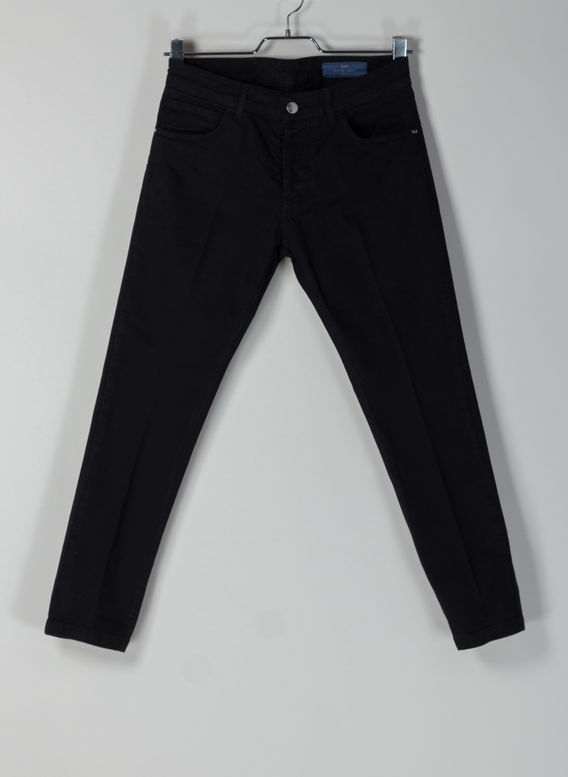 JEANS 5 TK DENIM CORTO, 2000NERO, medium