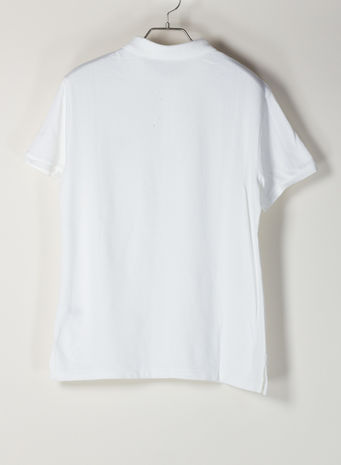 POLO A MANICHE CORTE, WHITE, small
