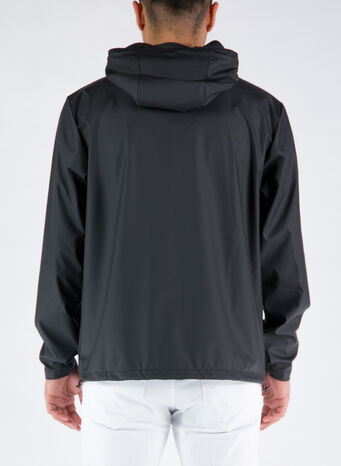 GIUBBOTTO SHORT HOODED, 01BLACK, small