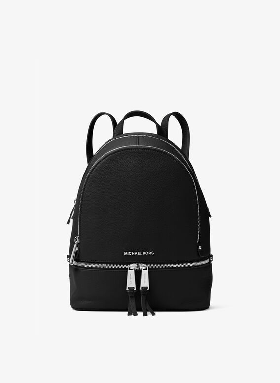 ZAINO BACKPACK RHEA ZIP, 003BLACK, medium