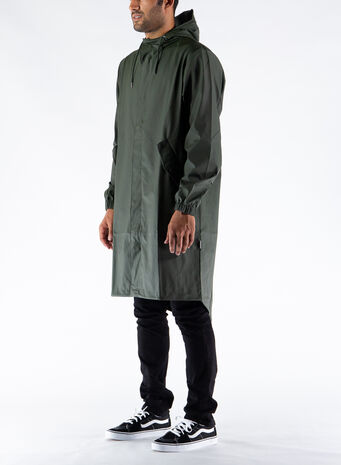 GIUBBOTTO FISHTAIL PARKA, GREEN, small