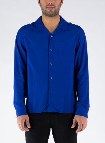 CAMICIA BIG POPPY, BLUE, small
