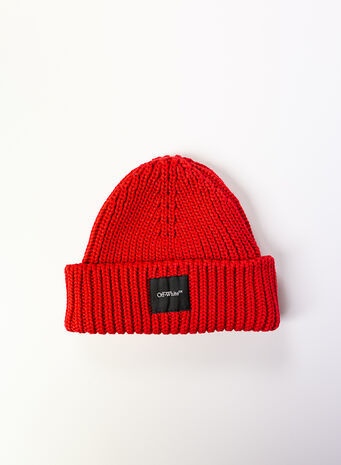 CAPPELLO BEANIE, RED, small