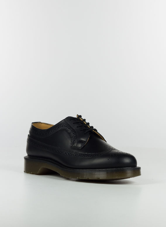 SCARPA 3989 BROGUE, BLACKSMOOTH, medium