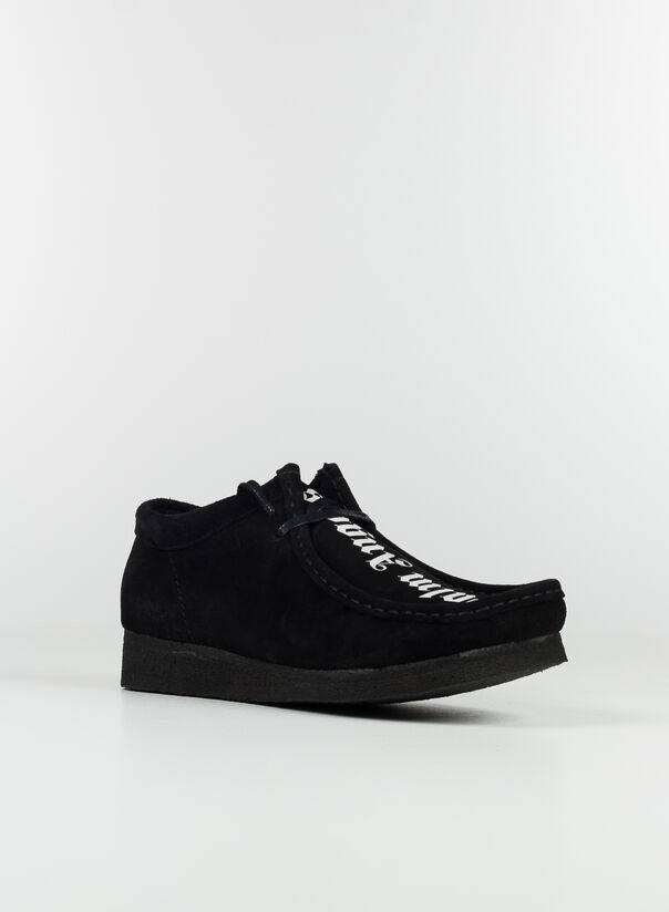 SCARPA WALLABEE SUEDE, 1001BLACK/WHITE, large