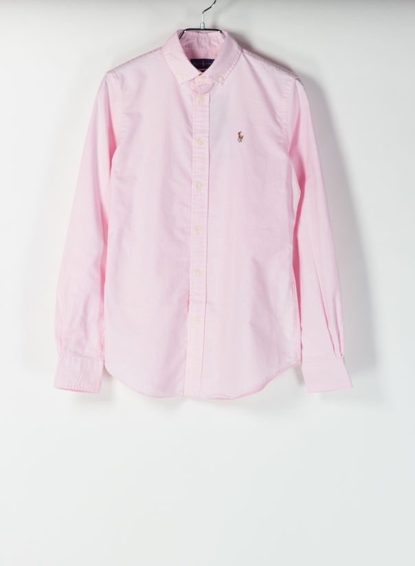 CAMICIA OXFORD, DECOPINK, large