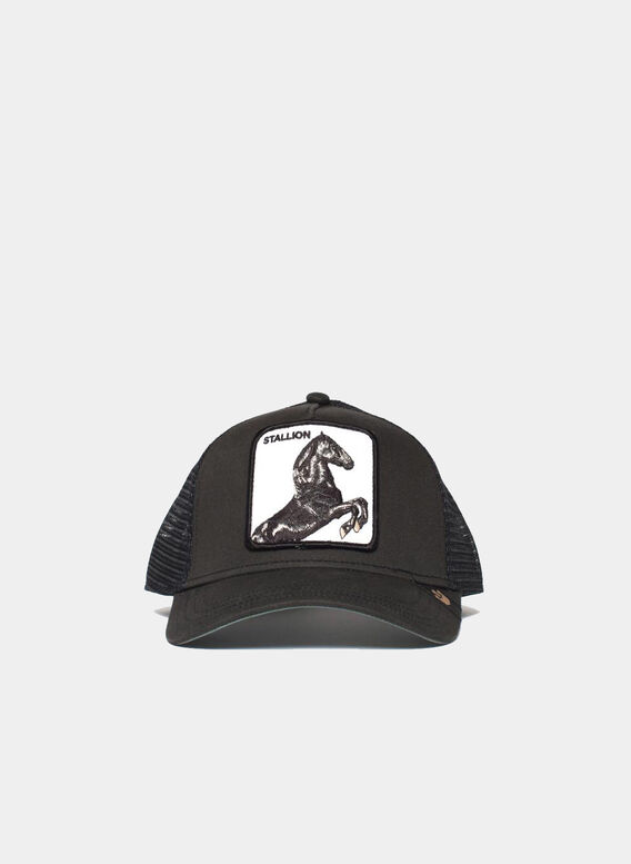 CAPPELLO STALLION, BLK, medium