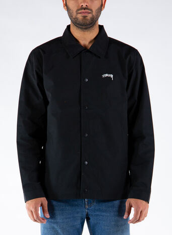 GIUBBOTTO CLASSIC COACH JACKET, BLACK, small
