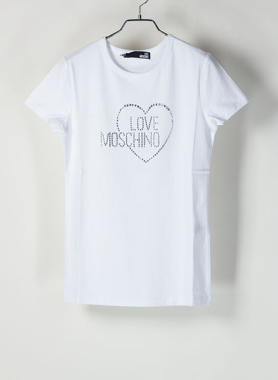T-SHIRT LOVE MOSCHINO, A00, medium