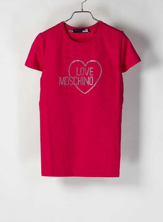 T-SHIRT LOVE MOSCHINO, O47, medium