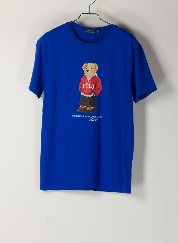 T-SHIRT STAMPA  BEAR, PACIFICROYAL, large