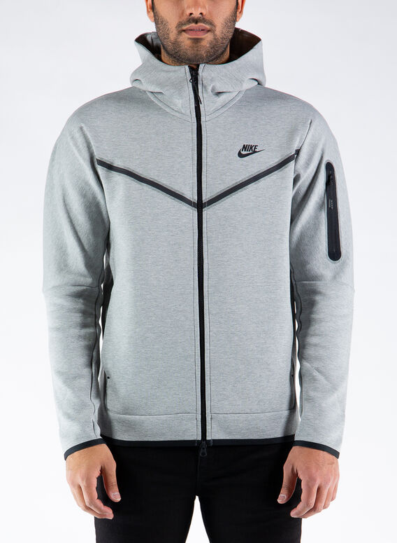 SPORTSWEAR TECH FLEECE, DKGREYHEATHER, medium