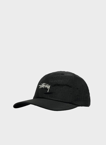 CAPPELLO STOCK METALLIC NYLON LOW PRO, BLACK, small