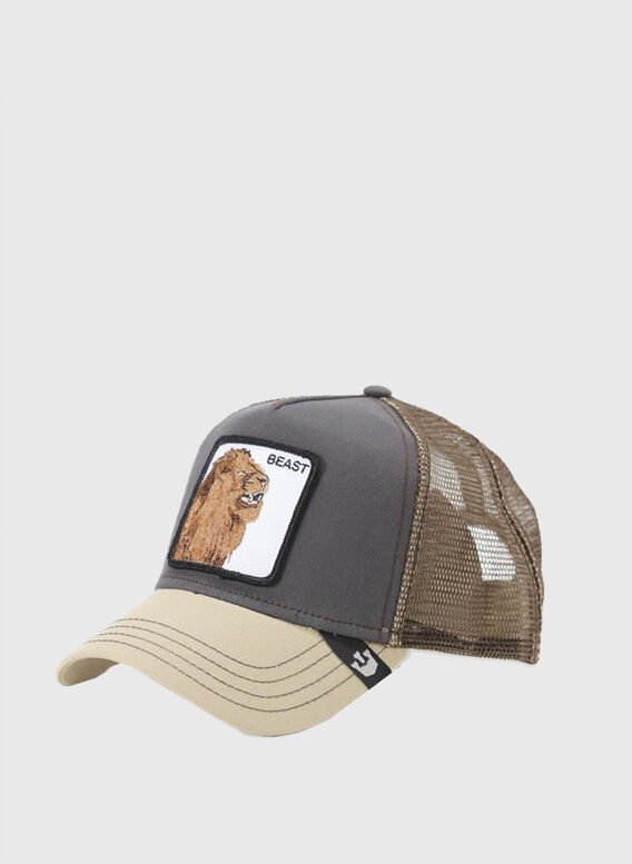 CAPPELLO BEAST, GRY, medium