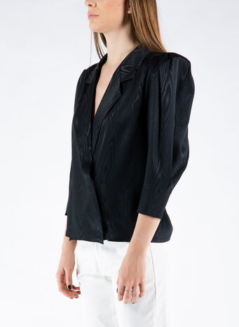 CAMICIA THE VINTAGE SHIRT, BLACK, small