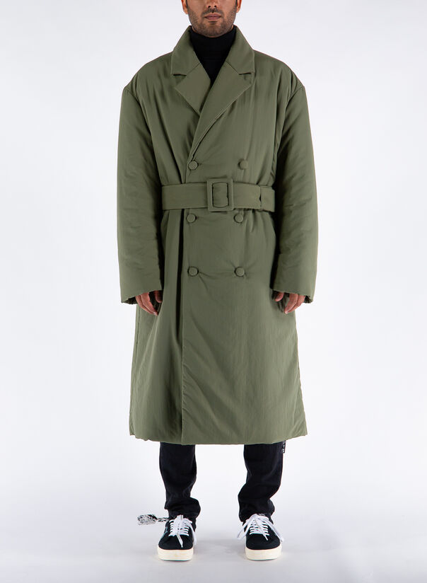 CAPPOTTO PADDED COAT, 55GREEN, large