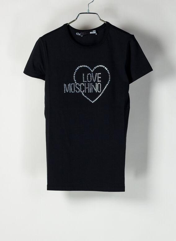 T-SHIRT LOVE MOSCHINO, C74, medium