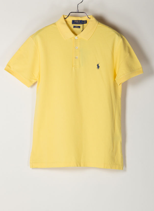 POLO A MANICHE CORTE, EMPIREYELLOWC7952, large
