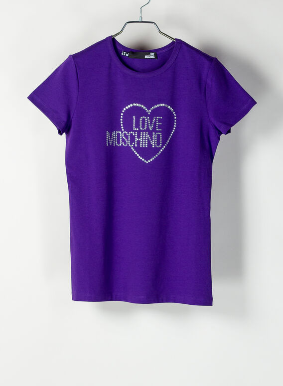 T-SHIRT LOVE MOSCHINO, V91, medium