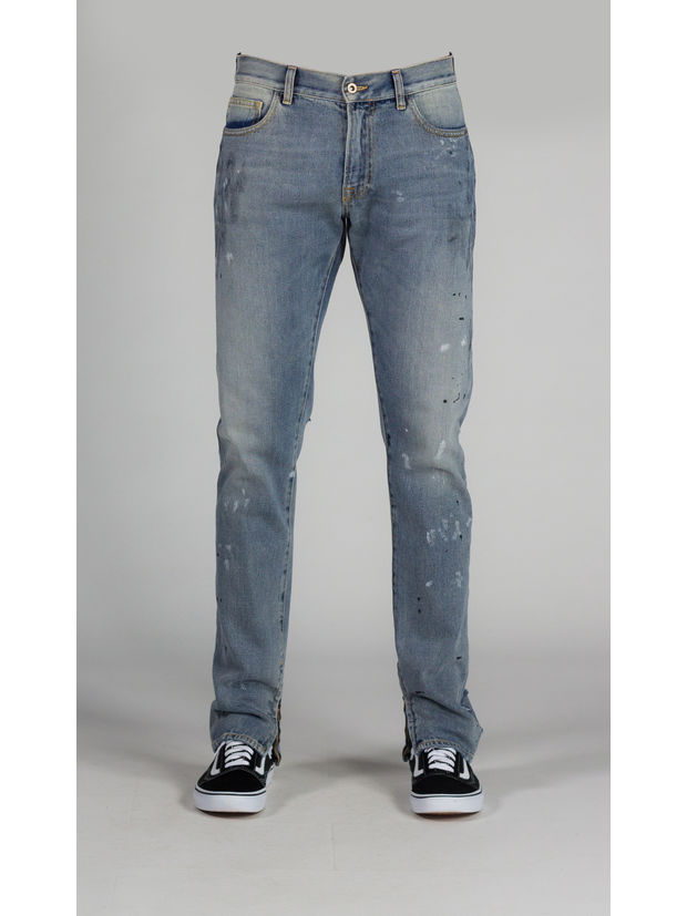 JEAN DISTRESSED, INDIGO, large