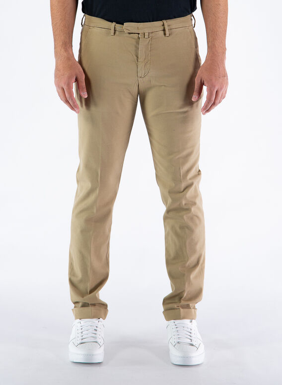 PANTALONE TENCEL, 73TABACCO, medium