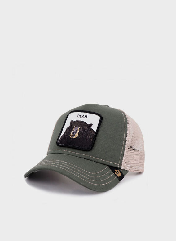 CAPPELLO BEAR, OLIVE, medium