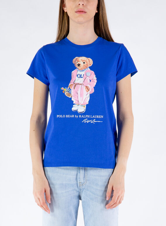 T-SHIRT CON STAMPA BEAR, 002NEWIRIS, medium
