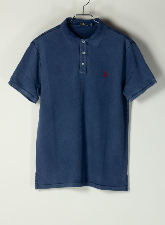 POLO A MANICHE CORTE, CRUISENAVY, medium