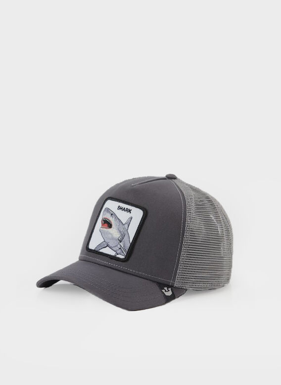 CAPPELLO SHARK, GRY, medium