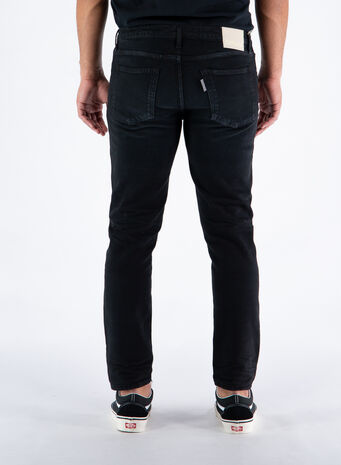 JEANS CLEVELAND CROP COMFORT, 0002BLACK, small