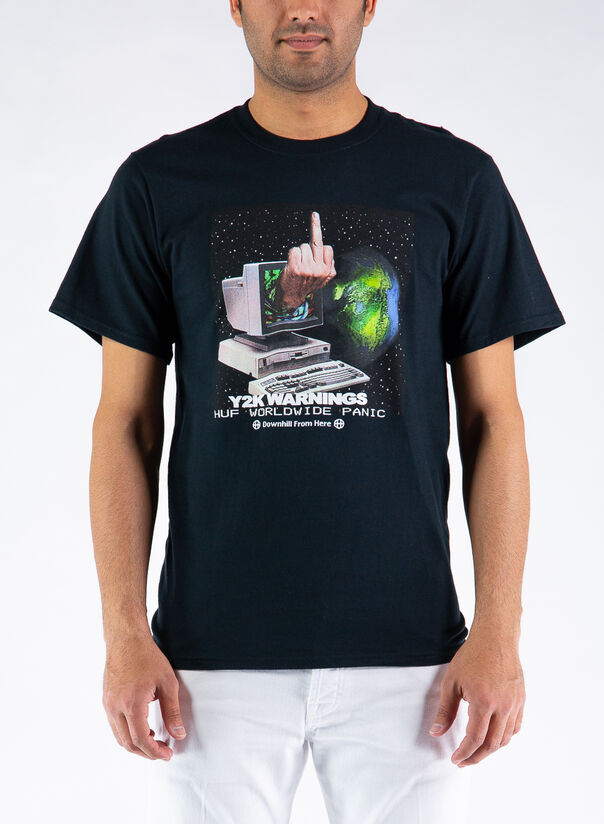 T-SHIRT Y2K DAY S/S TEE, BLACK, large