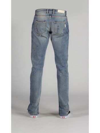 JEAN DISTRESSED, INDIGO, small