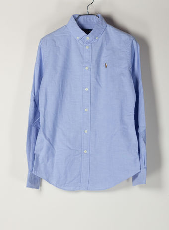 CAMICIA OXFORD, BLUEHYACINTH, small