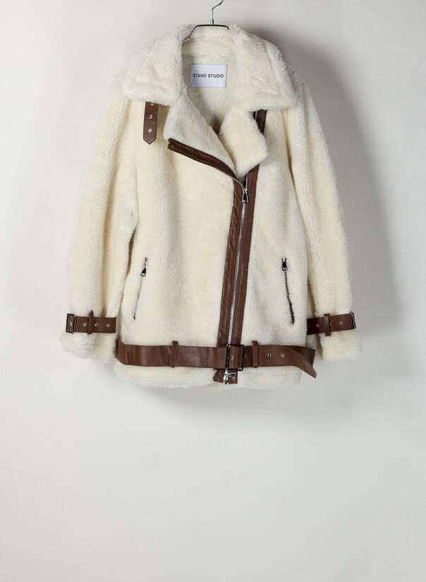 GIACCA COLLEEN, 96000OFFWHITEBROWN, large