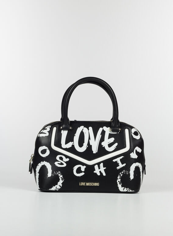 BORSA OVALE, 00ANEROBIANCO, medium