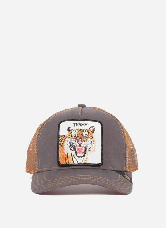 CAPPELLO EYE OF THE TIGER, BROWN, medium