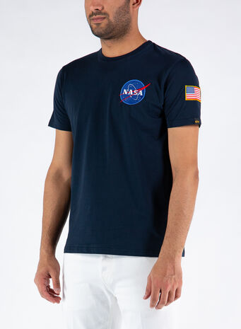 T-SHIRT SPACE SHUTTLE, 07REPLBLUE, small
