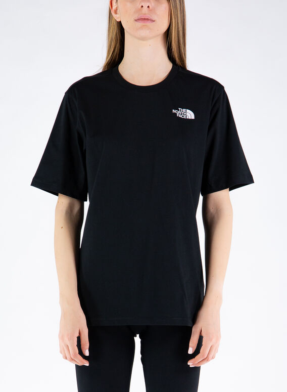 T-SHIRT SIMPLE DOME, JK31TNFBLACK, medium