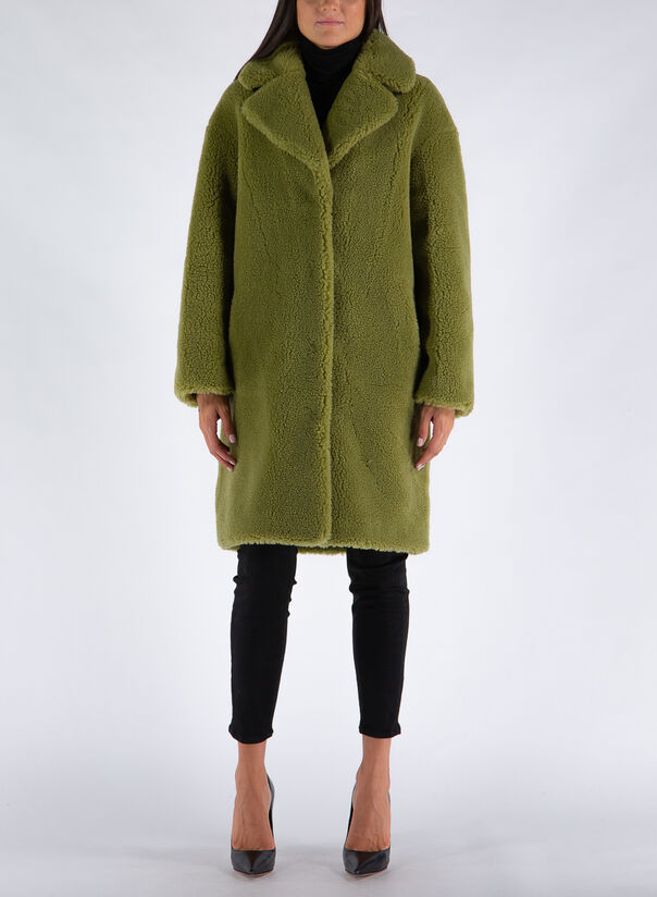CAPPOTTO CAMILLE COCOON COAT, 57900ARMYGREEN, large
