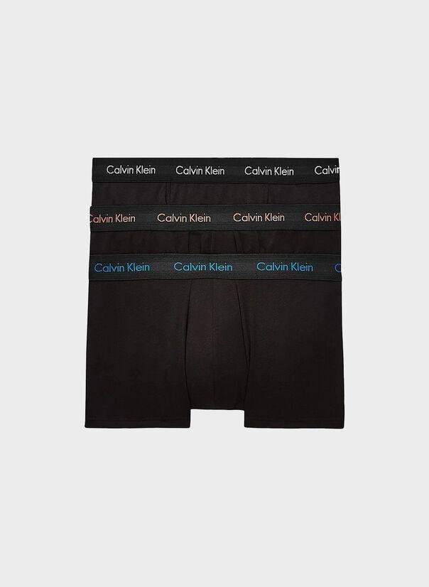 BOXER ADERENTI COTTON STRETCH 3 PACK, ROYALTYGREYEXOTICCOR, large