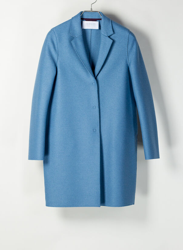 CAPPOTTO COCOON IN LANA, 325DUSTYBLUE, large