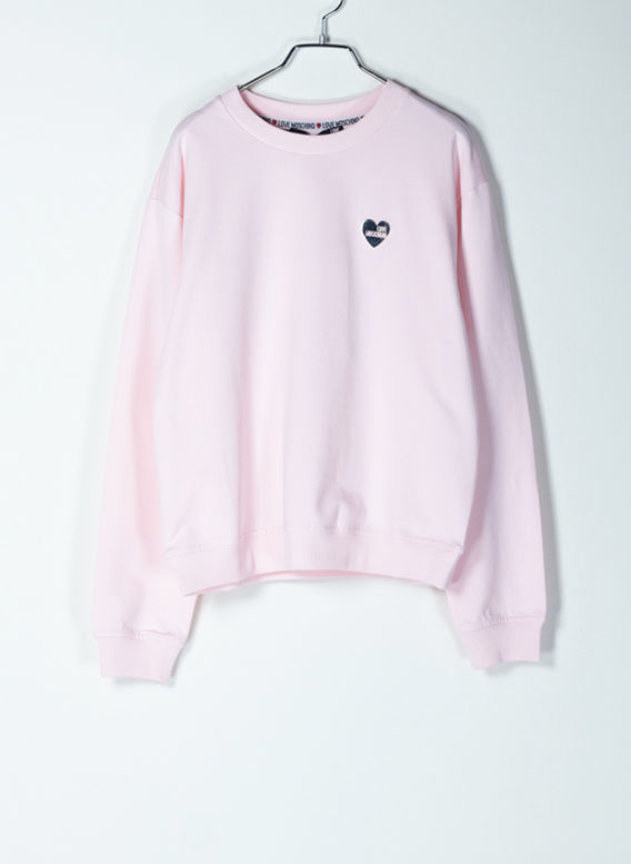 FELPA BASIC LOGO, L91PINK, medium
