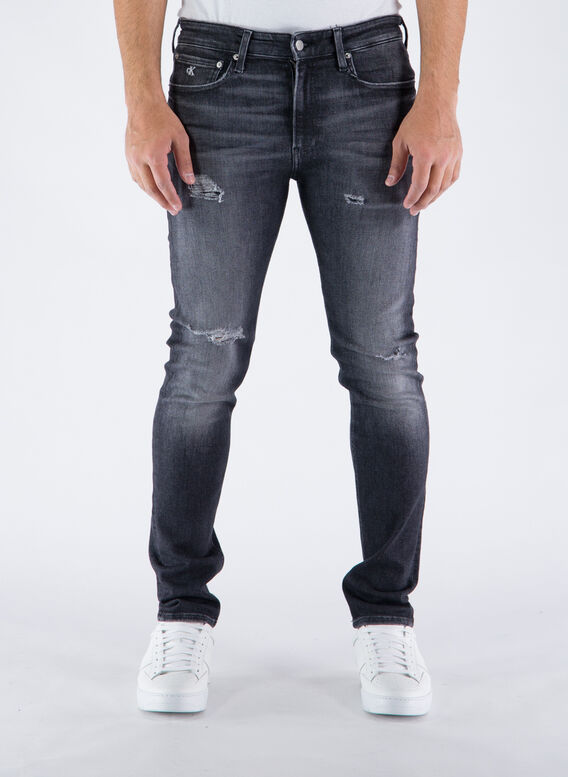 JEANS THE BASICS, 1BYDENIMBLACK, medium