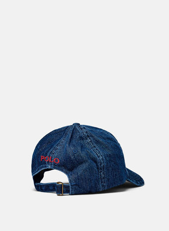 CAPPELLO CLASSIC SPORT, DARKWASHDENIMWRED, small